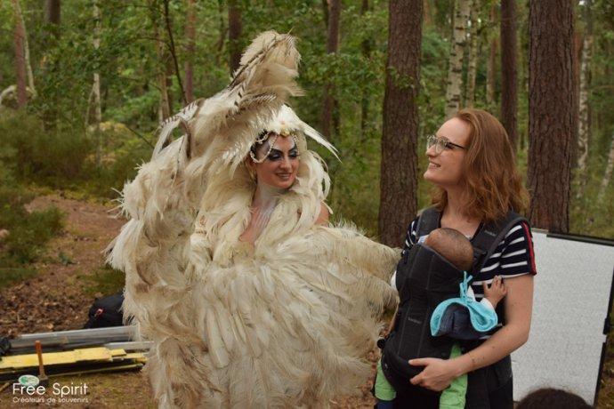 Free Spirit project tournage de clip pour la célébration de la foret et notre campagne de reforestation avec Bastien Sable - Myriam Bouskour - Clara De Meyer - Ka Amorastreya Serpent Feathers