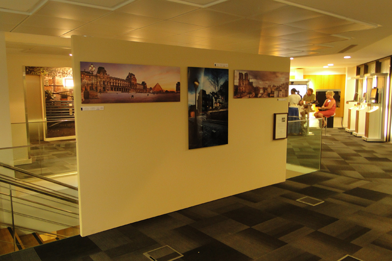 Exposition photos en 2011 au siège de CISCO