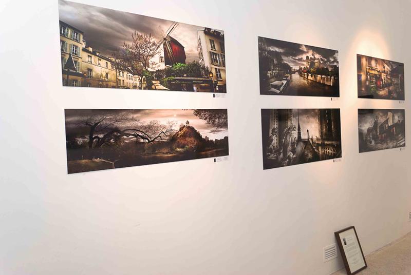 Expo à la Galerie de l'Europe en 2011