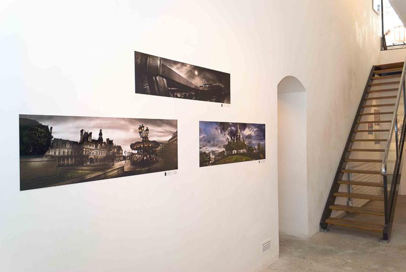 Expo à la Galerie de l'Europe à Paris en 2011