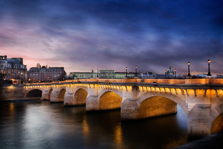 Serge Ramelli The Pont Neuf bridge Paris