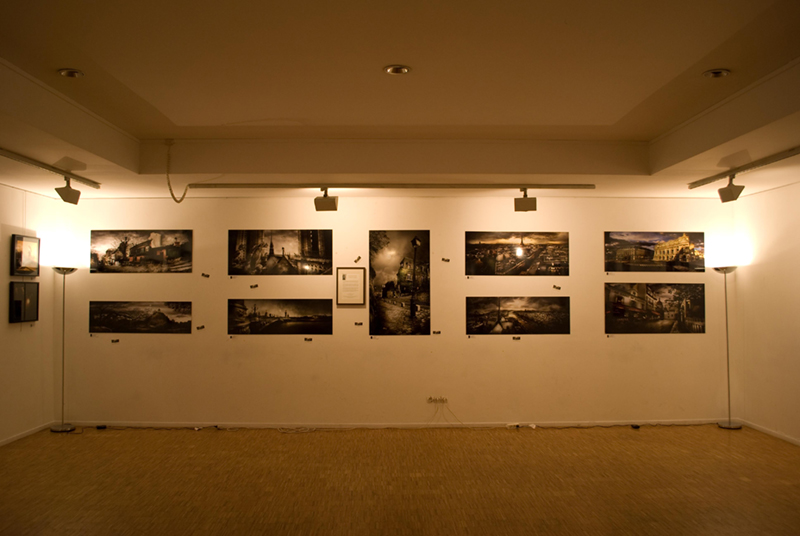 'Silence must be heard' exhibition in 2010