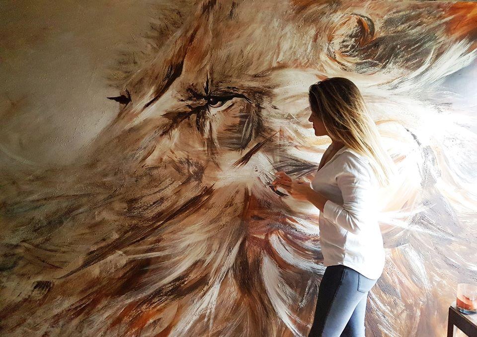 Lion Anne Charlotte Delord delord