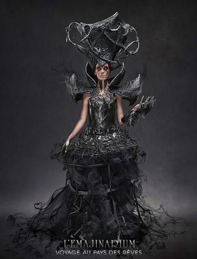 Dark Queen EMAJINARIUM character by Free Spirit created by the photographer Mathieu Paul Gabriel