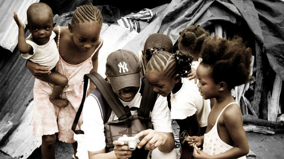 Free Spirit foundation with children orphaned by AIDS in Congo - orphanage
